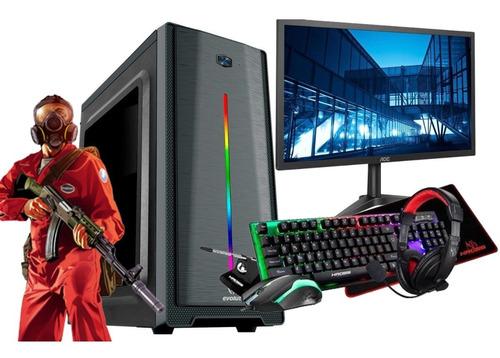 Imagem 1 de 6 de Pc Gamer Completo I5 16gb 1tb Monitor + Kit Gamer Full Hd