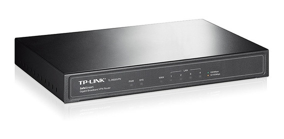 Router Vpn Band Ancha Tp Link Safestream Tl R600vpn+ Gigabit