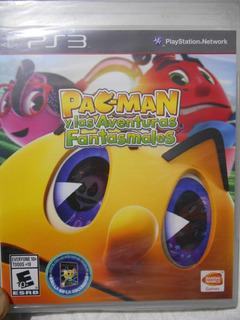 Ps3 Pacman And The Ghostly Adventures Español Nuevo Sellado