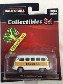 Bx406 Califórnia Toys Vw Kombi Clássica Volkswagen Escolar