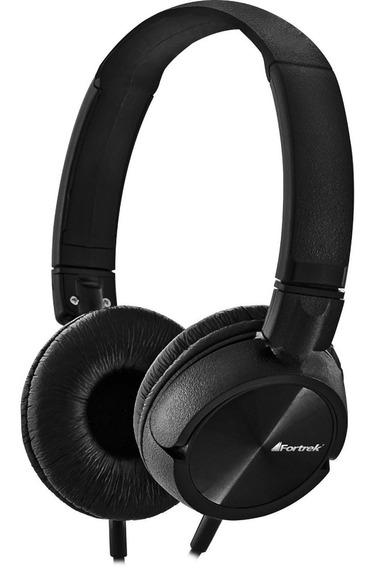 Fone De Ouvido Headphone Bass Beats Fortrek C/ Microfone Hmf