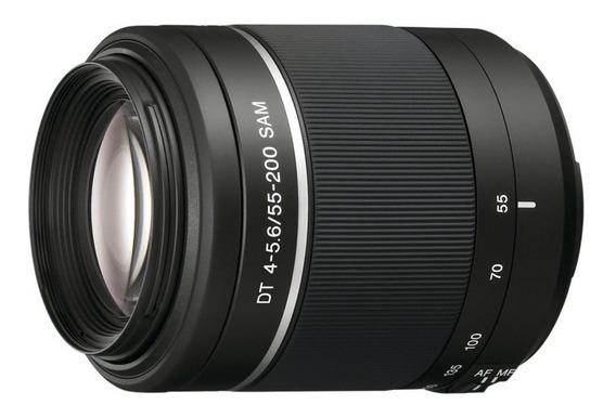 Lente Sony Em Bom Estado. Alpha A-mount Dt55-200mm F4-5.6.