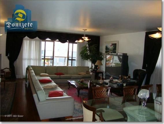 Apartamento Com 5 Dormitórios À Venda, 370 M² Por R$ 1.200.000,00 - Jardim Bela Vista - Santo André/sp - Ap7017