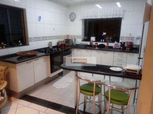 Imagem 1 de 30 de Sobrado Com 3 Dormitórios À Venda, 237 M² - Jardim Do Estádio - Santo André/sp - So2909