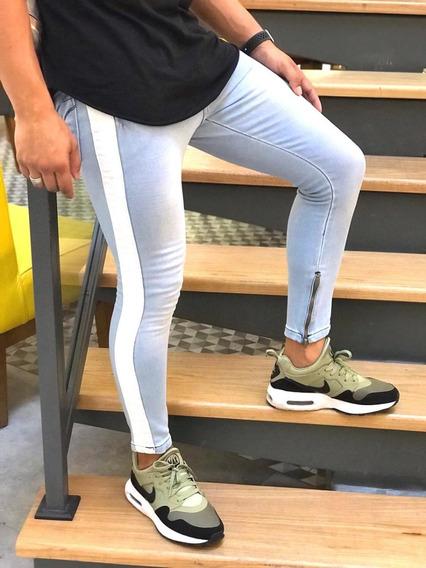 Calça-masculina-jeans-super-skinny-zipper-na-barra-promção