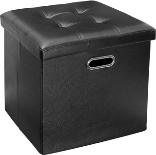 Banco Taburete Otomana Caja Organizador Mueble Sala Calidad