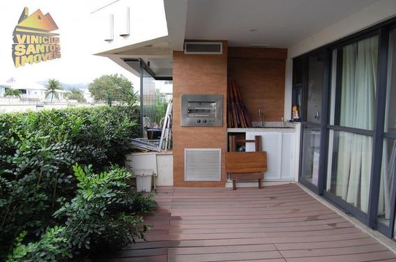 Apartamento 1 Quarto Para Venda Em Rio De Janeiro, Recreio Dos Bandeirantes, 1 Dormitório, 1 Suíte, 1 Banheiro, 1 Vaga - 1008