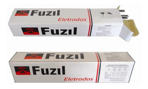 Imagem 1 de 3 de Kit C/ 5 Kg Eletrodo Aws E6013 4.00mm Lv - Fuzil