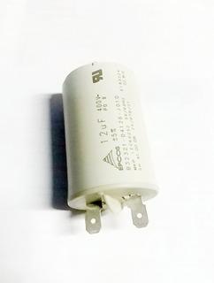 Capacitor 12uf/400v P/ Lavadora Plus Mueller Mod. Novo 220v