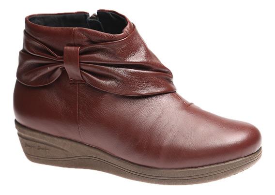 Bota Feminina Em Couro Roma Jambo 158 Doctor Shoes