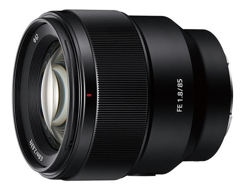 Lente Sony Montura Tipo E Con Formato Full Frame   Fe 85mm F