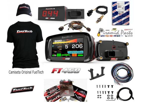 Fueltech Ft450 Chicote 3m Wb Nano Chicote 2m Sonda + Brindes