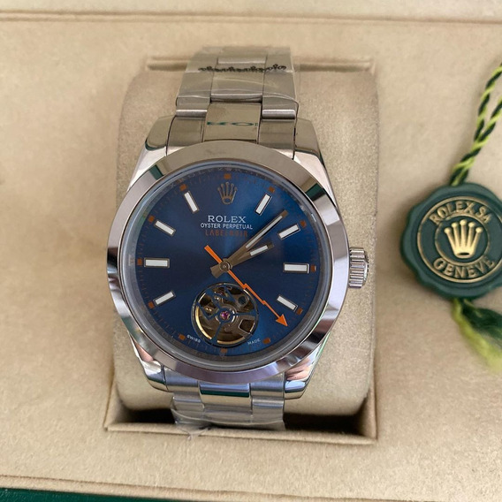 Relogio Rolex Oyster Perpectual Serie Limitada, Wr 100 Mts