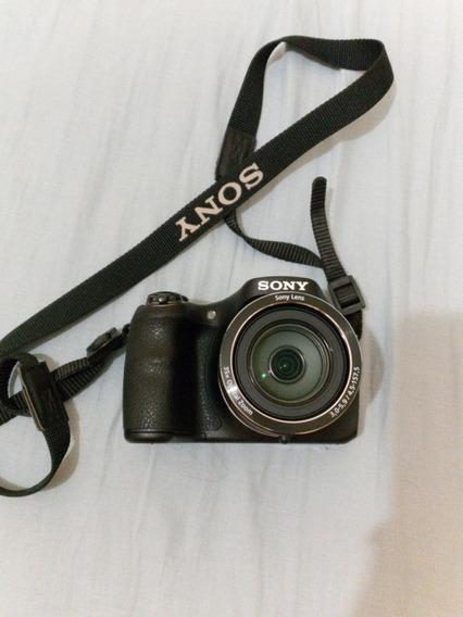 Câmera Semi Profissional Sony Dsc- H300 Cyber-shot
