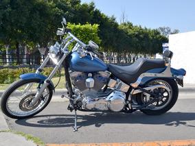 Harley Softail Custom 1450 Lista Para Viajar