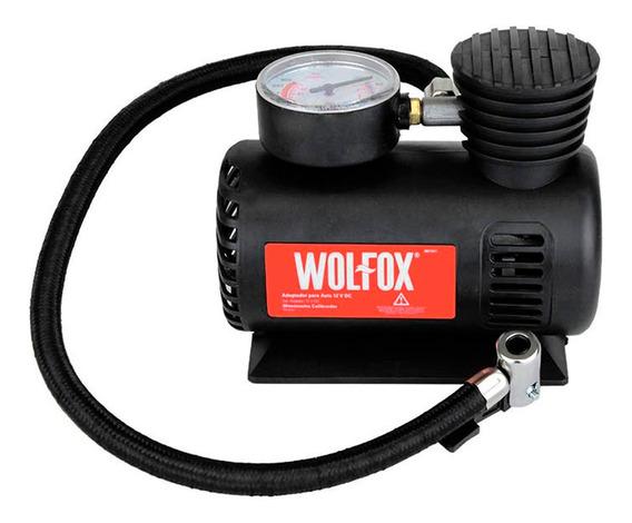 Mini Compresor Aire P/autos 300psi Silenciosa Wolfox Wf1011