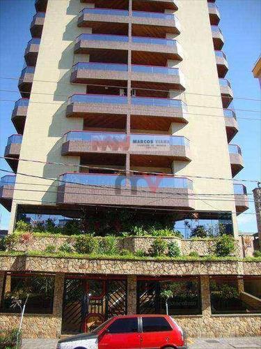 Apartamento À Venda, 141 M² Por R$ 340.000,00 - Boqueirão - Praia Grande/sp - Ap0588