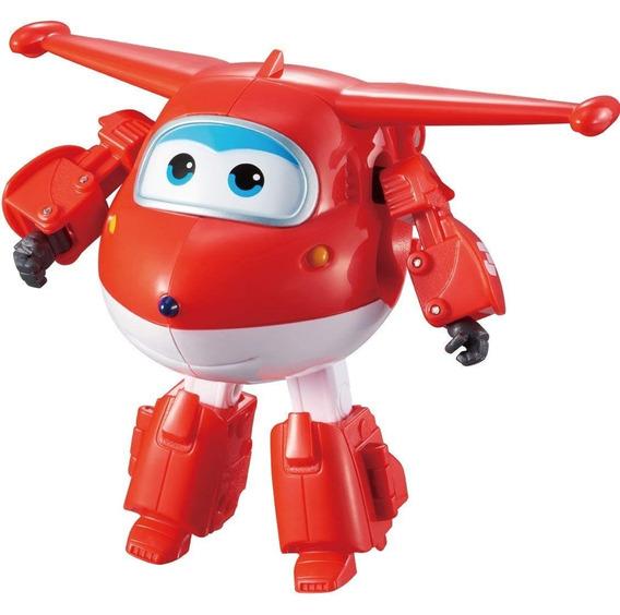 Super Wings Convertible En Robot 13cm Original