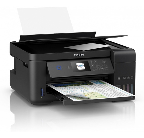 Impresora Epson L4160 Multifuncional Tinta Continua Duplex