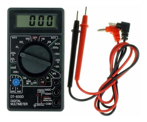 Tester Multimetro Digital Dt 830d Megalite