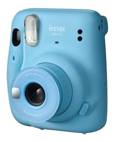 Câmera Instantânea Fujifilm Instax Mini 11 - Sky Blue