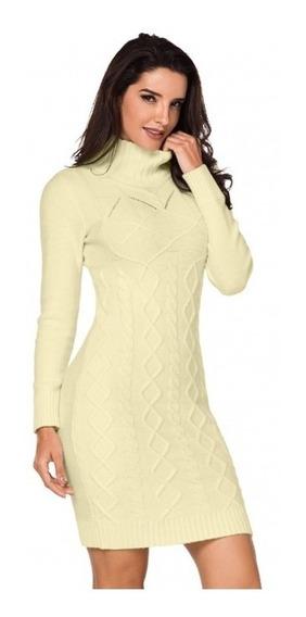 Bonito Vestido Sueter Lapiz 27859