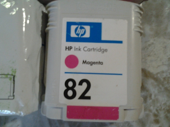 Cartucho Original Hp 82 Magenta C4912a