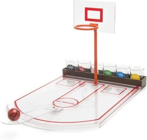 Basket De Escritorio Con Shot - 6 Chupitos Deluxe