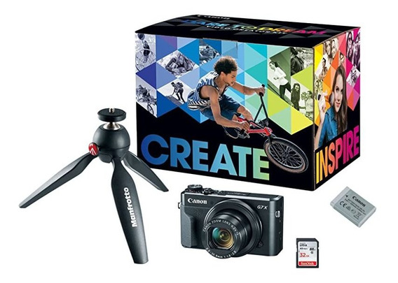 Camara Canon Powershot G7x Mark Ii Video Creator Kit Manfr ®