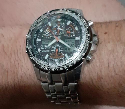 Relógio Citizen Eco-drive Skyhawk Jy0000-53e