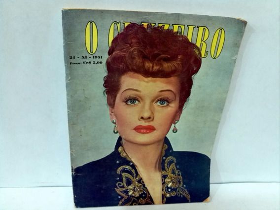 Revista O Cruzeiro * 24.11 . 1951