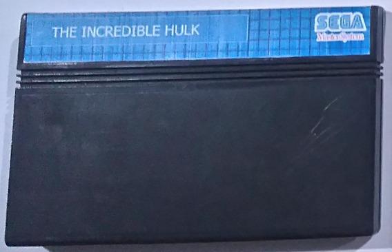 Cartucho The Incredible Hulk Master System