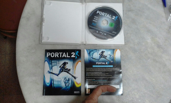 Jogo Portal 2 Ps3 Completo Mídia Física Conservado