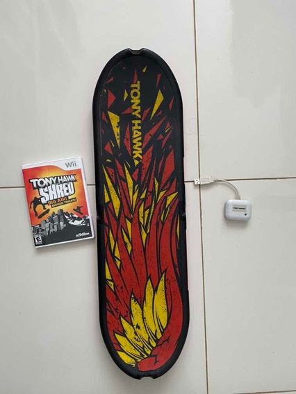 Jogo Wii Tony Hawk Shred Big Air Bigger Tricks Snowboard
