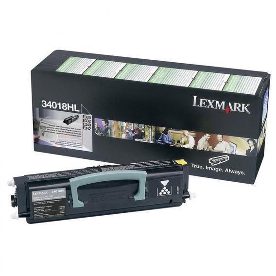 Toner Lexmark 34018hl Negro - E330 E332 E340 E342