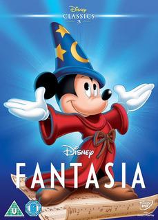 Dvd Pelicula Fantasia ( Mickey Mouse Disney Pixar )