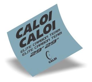 Adesivo Bike Caloi - Elite Carbon Team