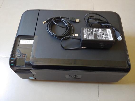 Multifuncional Hp C 4480 Usada Com Atuador Quebrado