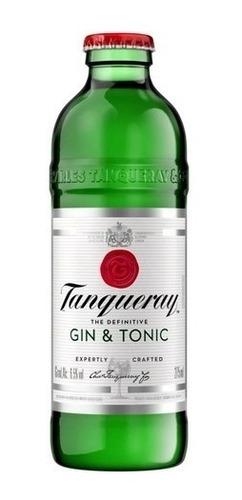 Imagem 1 de 2 de Gin Tônica Tanqueray 275ml Drink Pronto
