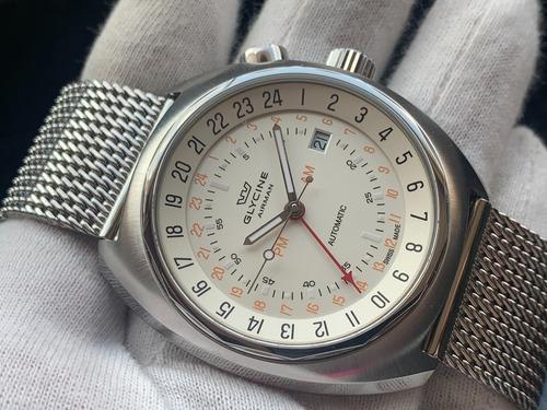Relógio Glycine Airman Sst-12 Automatic Gl0074