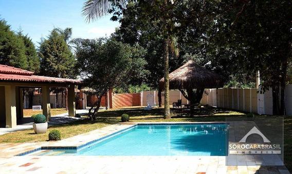 Chácara Com 5 Dormitórios À Venda, 1650 M² Por R$ 660.000,00 - Recanto Campestre Internacional De Viracopos Gleba 3 - Indaiatuba/sp - Ch0004