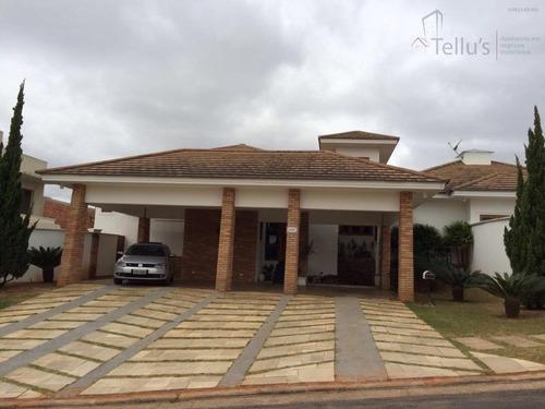 Casa Residencial Alto Padrão À Venda, Condomínio Ibiti Do Paço, Sorocaba. - Ca0976