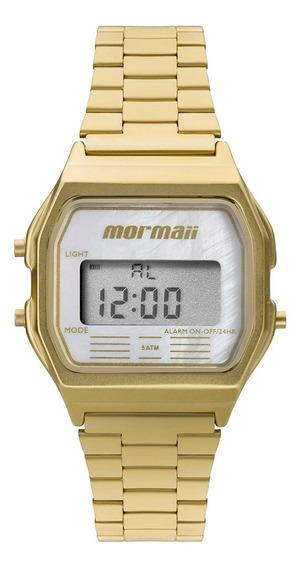 Relógio Mormaii Feminino Vintage Dourado Mojh02as/4b