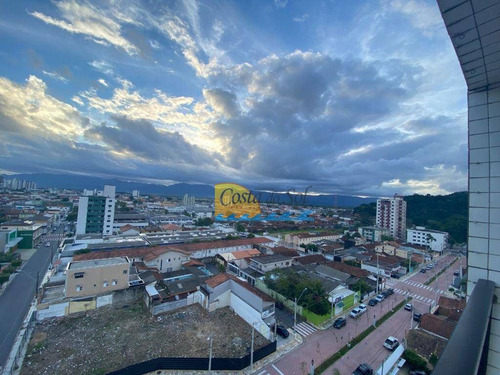 Imagem 1 de 8 de Apartamento Com 1 Dormitório À Venda, 58 M² Por R$ 195.000 - Boqueirão - Praia Grande/sp - Ap15909