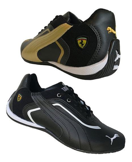 Kit 2 Tenis Masculino Caminhada Esportivo Ft Original Barato