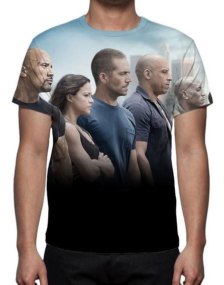 Camisa, Camiseta Filme Velozes E Furiosos 7 - 2015