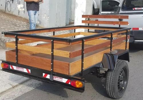 Carreta Carretinha Reboque Fazendinha 1.80x1.10 - 2021 - 0km