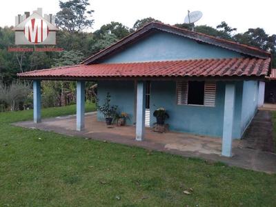 Sítio Rico Em Água Com 02 Dormitórios À Venda, 20000 M² Por R$ 300.000 - Pedra Bela - Pedra Bela/sp - Si0033