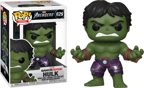 Funko Pop #629 Hulk - Marvel Avengers Gameverse