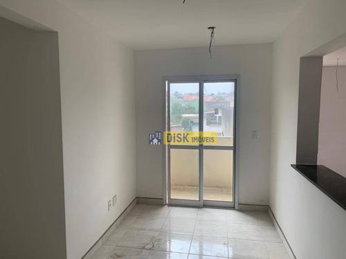 Imagem 1 de 7 de Apartamento Com 2 Dormitórios À Venda, 53 M² Por R$ 240.000 - Vila Baeta Neves - São Bernardo Do Campo/sp - Ap2276